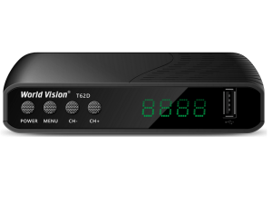 Цифровая тв-приставка world-vision-t62d