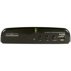 Приемник Goldmaster T-707 HD для цифрового эфирного ТВ купить в Минске. Цифровая приставка на дачу. Стандарт DVB-T, DVB-T2.