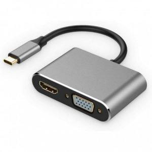 Адаптер / переходник / конвертер USB3.1 Type-C на HDMI / VGA / USB3.0 / USB-C купить в минске