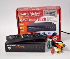 Цифровая тв приставка WORLD VISION T62A купить в минске