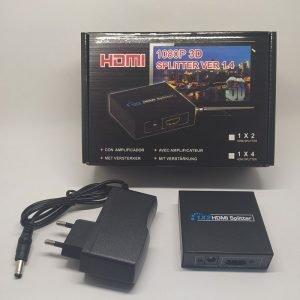 Адаптер / разветвитель / сплиттер 1×2 HDMI Full HD 1080P 3D купить в минске