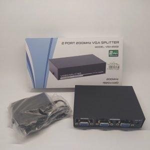 Сплиттер Разветвитель VGA 1 x 2 Монитора FullHD купить в минске