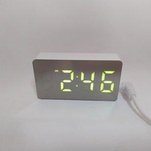 Часы электронные настольные цифровые OS-001 MINI(зеленые) купить в минске