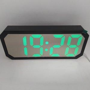 Часы настольные DT 6508 зеркальные купить в минске