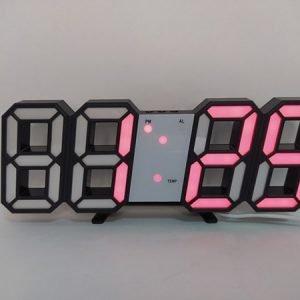 Цифровые стетодиодные часы 3d(красные) купить в минске