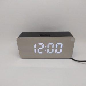 Электронные настольные часы DS-3622L(белый) купить в минске