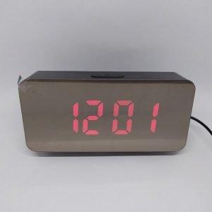 Электронные настольные часы DS-3622L(красный) купить в минске