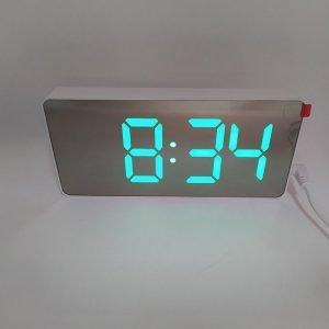 Настольные электронные часы 1920(зеленый) купить в минске