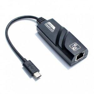 Переходник / адаптер / конвертер USB3.1 Type-C на RJ45 (до 1000 Mbps) купить